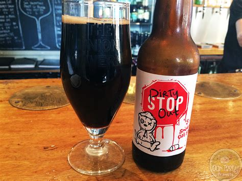 We believe in thinking differently. Dirty Stop Out by Tiny Rebel Brewing Co - #OTTBeerDiary Day 186