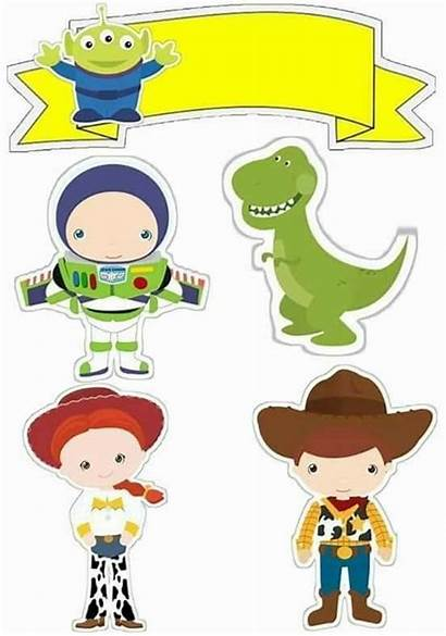 Toy Story Imprimir Bolo Topo Toppers Printable
