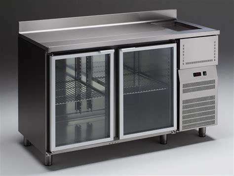 refrigerated tables  bar emainox