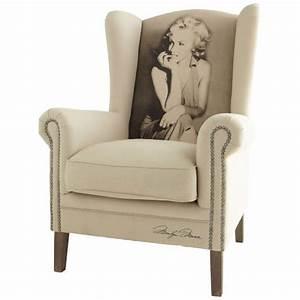 Fauteuil Bergère Maison Du Monde : fauteuil marilyn celebrity fauteuil maisons du monde ~ Teatrodelosmanantiales.com Idées de Décoration
