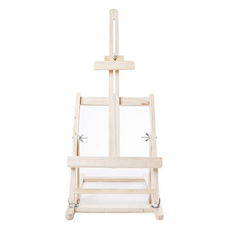 pine adjustable desk table top easel wooden artist tripod