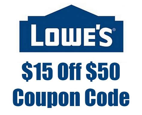lowes deals hot deal 15 off 50 lowe s coupon code tool rank com