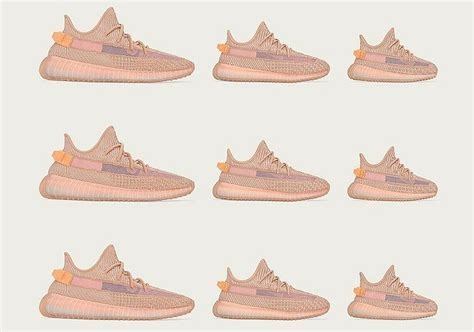"""adidas Yeezy 350 v2 """"Clay""""   Official Store List"""