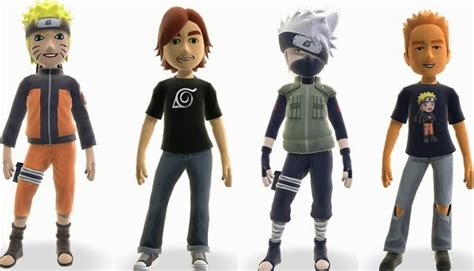 Dress Your Xbox Avatars With Naruto Shippuden Costumes And