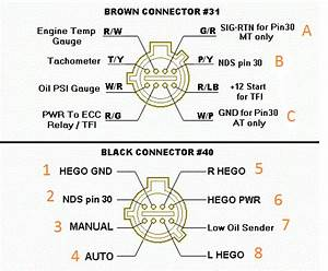 Where To Wire Neutral Switch Into Mustang Harness