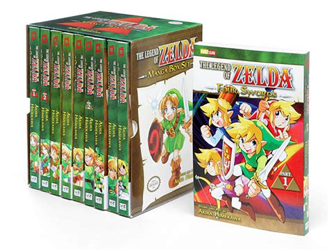 legend  zelda ultimate manga box set
