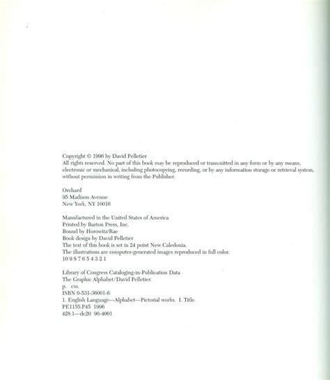 graphic alphabet  caldecott honor book