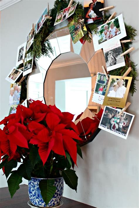 1400+ cool, unique personalized christmas cards w/ photos. Our DIY Dollar Tree Christmas Card Garland - Southern State of Mind Blog by Heather | Dollar ...