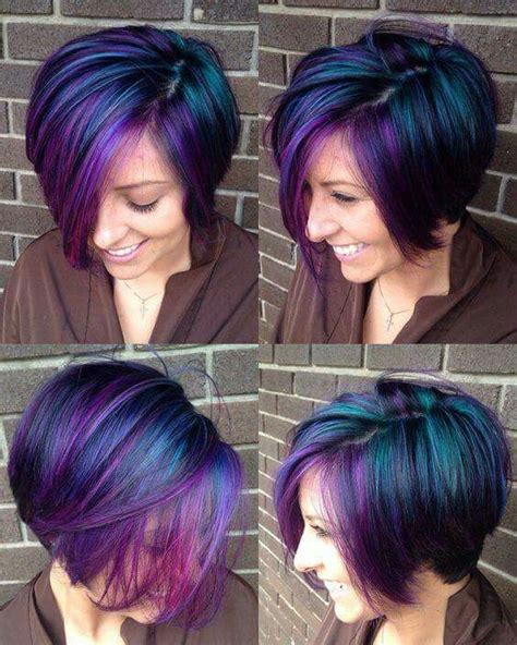 iridescent hair color iridescent peacock colored hair hair