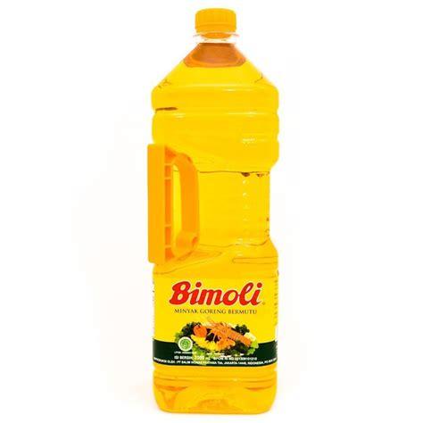 jual bimoli minyak goreng  liter botol   botol