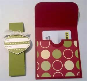 Stampin Up Gift Card Holder
