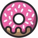 Donut Icon Bakery Icons Dessert Baker Doughnut