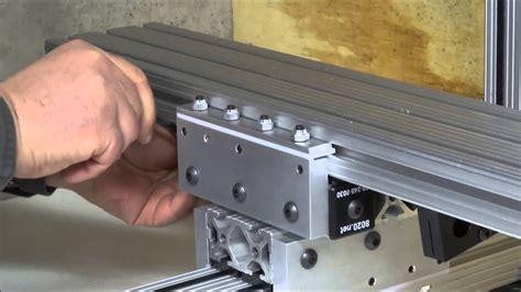 install linear bearings youtube