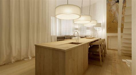 timber kitchen island interior design ideas