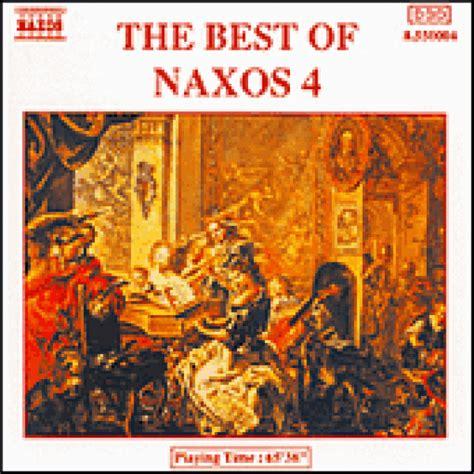 Cd The Best Of Naxos 4, Merci Disco