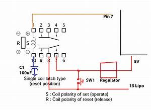 Reset A Single Coil Latching Relay On Power