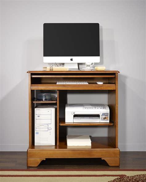 bureau informatique petit bureau informatique en merisier de style louis
