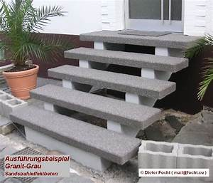 Treppenstufen Stein Außen Verlegen : treppenstufen beton treppenstufen beton st gallen treppenstufen aus beton der preis seine ~ Orissabook.com Haus und Dekorationen