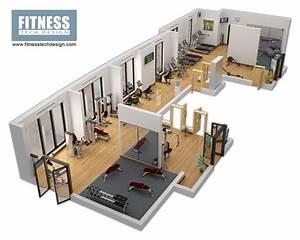 3D Gym Design & 3D Fitness Layout Portfolio   Fitness Tech ...
