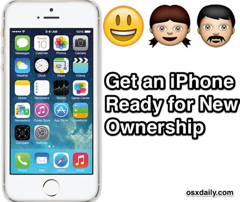 7 steps to gifting an iphone getting it ready for