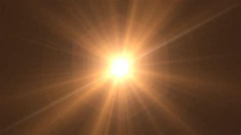photo editor glowing sun cgi with lens flare stock footage Light