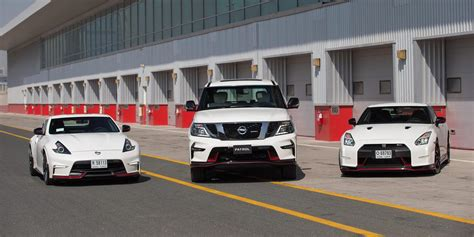 nissan patrol nismo nissan patrol nismo unveiled in the middle east