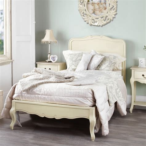 bed shabby chic juliette shabby chic chagne 3ft single bed stunning cream single bed frame ebay