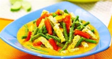 Tips Menjaga Kandungan 1 Minggu Resep Gulai Kacang Panjang I Kuliner