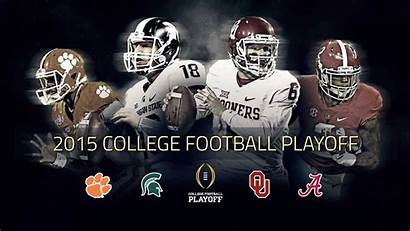 Football College Playoff Alabama Michigan Clemson Oklahoma