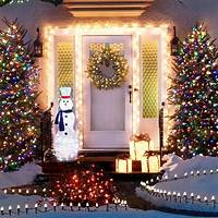 exterior christmas lights Outdoor Holiday Lighting Ideas