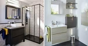 Décoration D Une Petite Salle De Bain : 14 astuces gain de place pour une petite salle de bains ~ Zukunftsfamilie.com Idées de Décoration