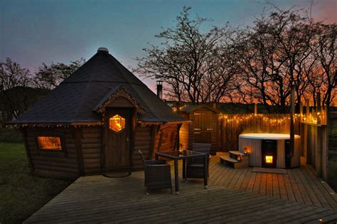 log cabin with tub uk breaks secret cloud house holidays self catering cottage for hen