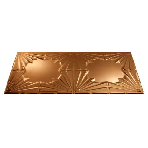 shop fasade polished copper faux shop fasade polished copper faux tin surface mount ceiling