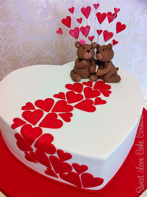 I Love Cake Decorating by 25 Best Ideas About Valentine Cake On Pinterest Heart