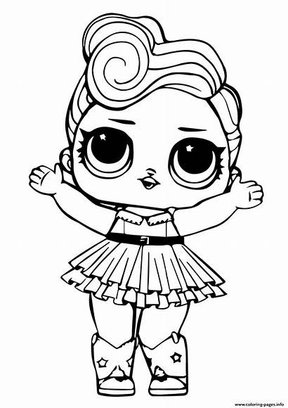 Coloring Doll Lol Pages Luxe Printable Info