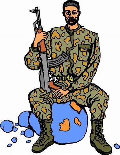 War Clip Clipart Guerra Activities Soldier Cliparts