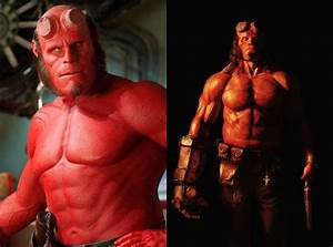 David Harbour poses as swole Hellboy in new photo - Polygon