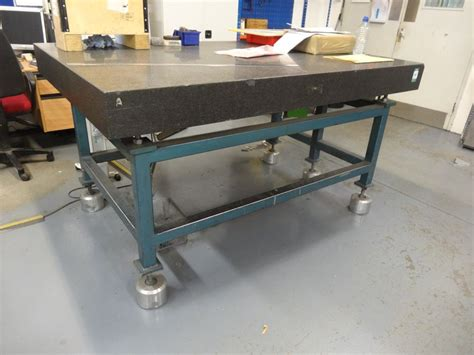 1220mm x 1830mm granite inspection surface table 1st