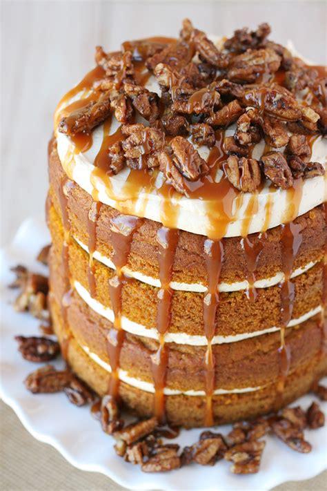 pumpkin salted caramel cake glorious treats