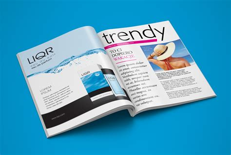 Free a4 magazine title mockup psd. Free A4 (Cover & Inner Pages) Magazine Mockup PSD - Good ...