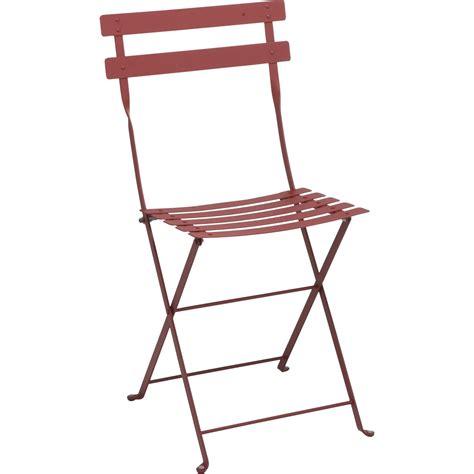 chaise de salon de jardin chaise de jardin en acier bistro piment leroy merlin