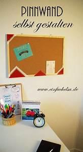 Pinnwand Selbst Gestalten : diy pinnwand als geschenk aufpeppen einfach elsa ~ Lizthompson.info Haus und Dekorationen