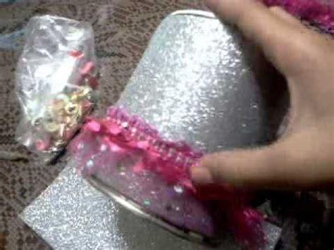 bote de leche adornado reciclado doovi