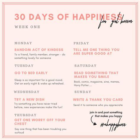 days  happiness challenge creative  coffee