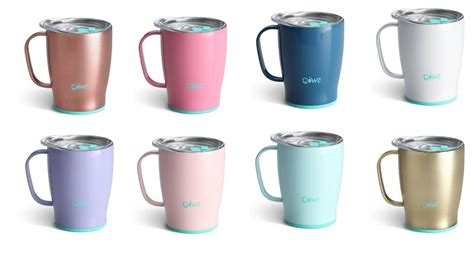 Btat , a beautiful set of four is a great option when looking for a nice affordable and effective set of insulated mugs. Swig 18 oz Travel Insulated Coffee Mug