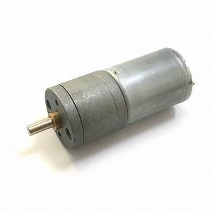 Ebowan High Torque  12v 100rpm  6v 50rpm 25ga 370 Brushed