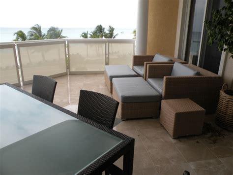 shoji panels as balcony privacy screens