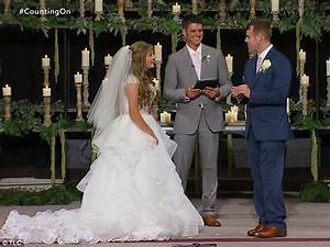 counting on joseph duggar and kendra caldwell get married With kendra caldwell wedding dress