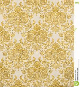 Glasfaser Tapeten Muster : gelbes weinlese muster tapeten muster stockfoto bild 70466602 ~ Markanthonyermac.com Haus und Dekorationen