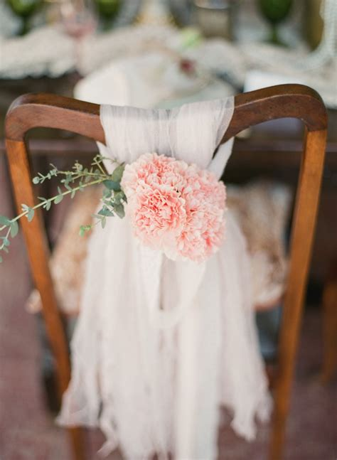 decoration chaise mariage diy vintage wedding ideas for summer and